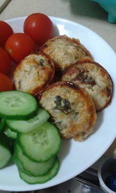 לקטנטנים מאפינס גבינות בצל פטרוזיליה ועגבניות מיובשות –  נועה שגיא כהן